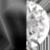 Black Metal/White Diamondettes Swatch