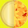 Gold/Deep Orange Swatch