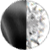 Black Metal|White Diamondettes Swatch