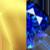 Gold/Blue Sapphire Swatch