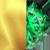 Gold/Emerald Swatch