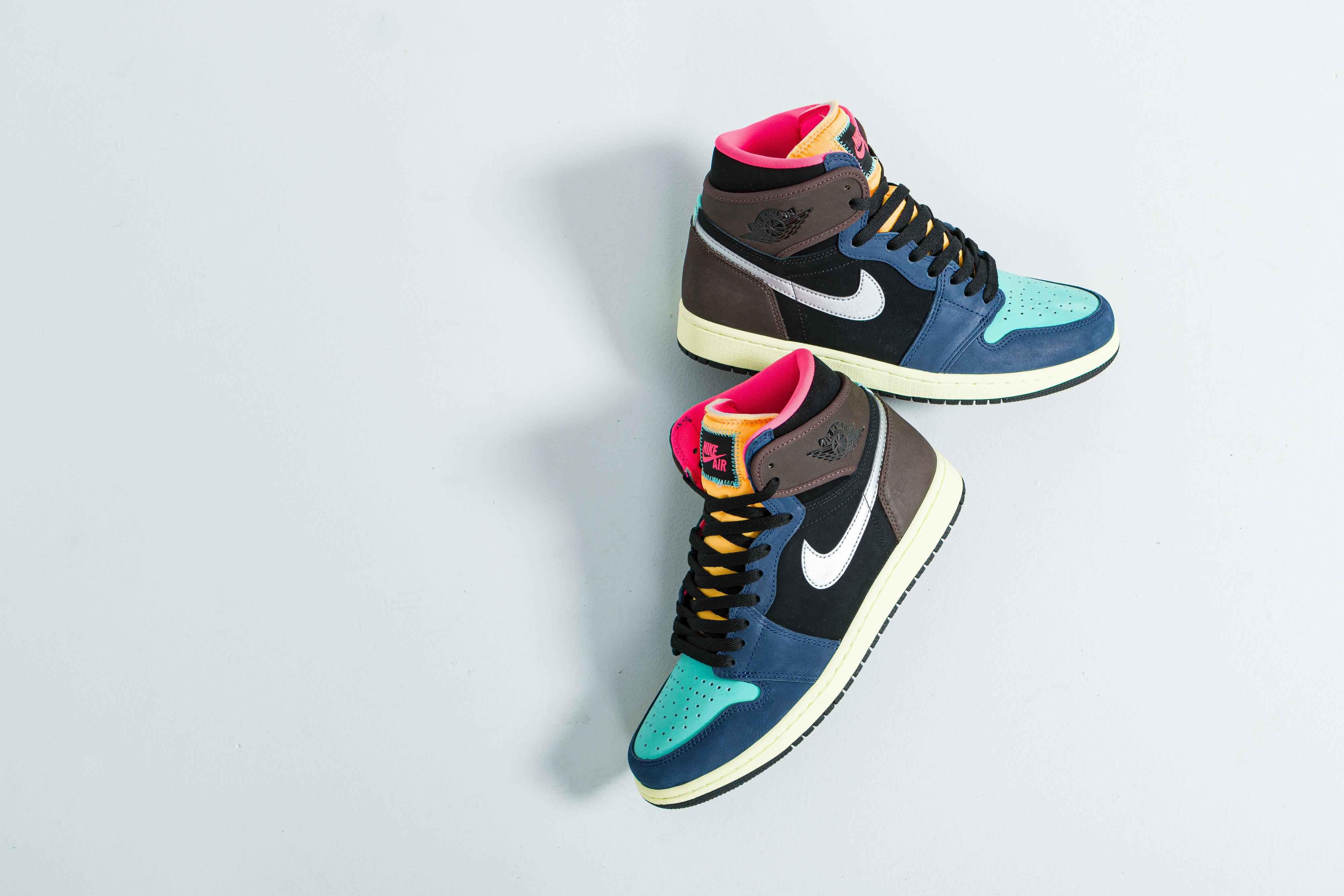 Up There Launches - Nike Air Jordan 1 Retro High OG - Baroque Brown/Black-Laser Orange-Racer Pink