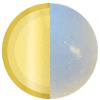 Gold | Moonstone Swatch