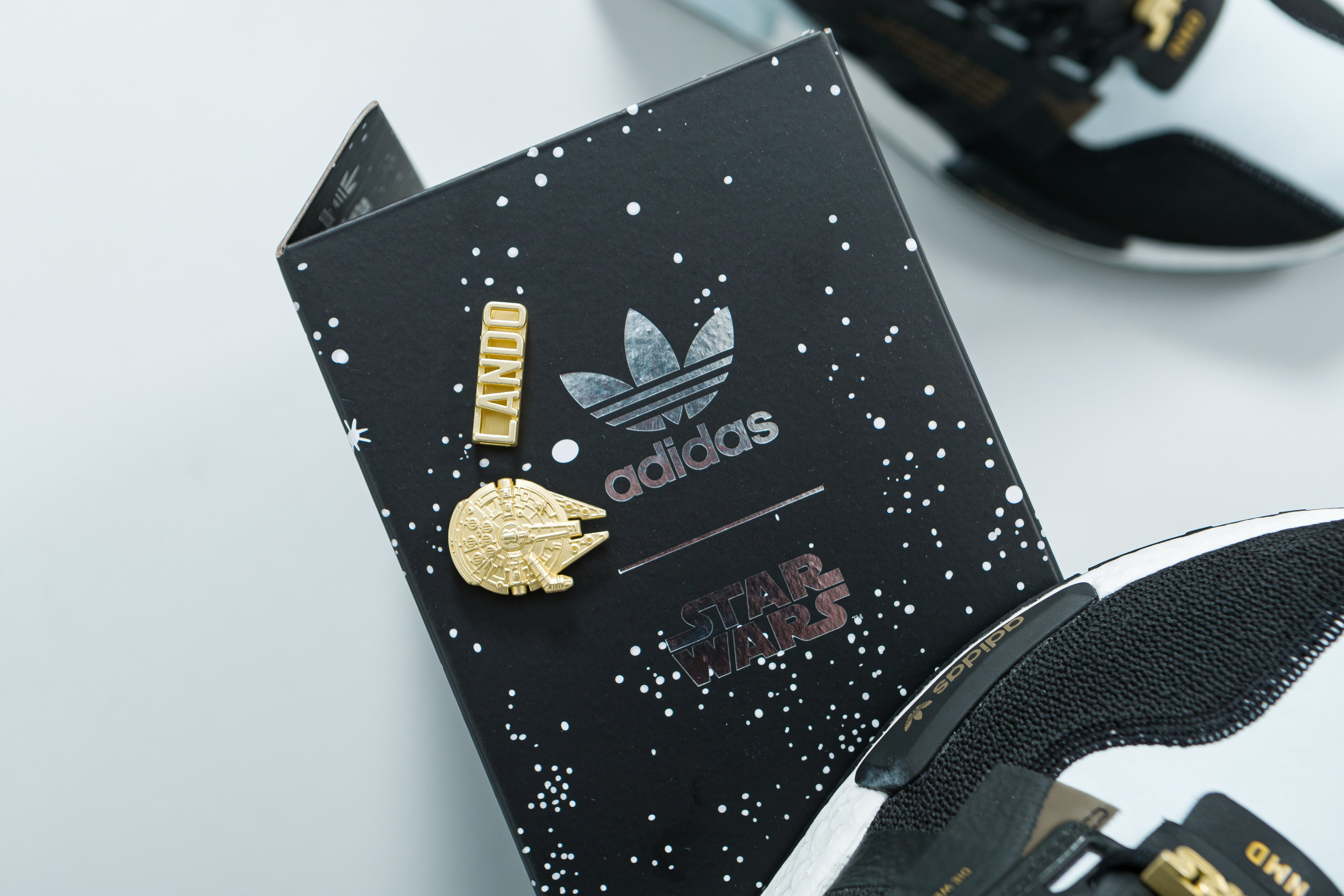 adidas Originals X Star Wars Princess Leia, Yoda UltraBOOST DNA and Lando Calrissian NMD R1 V2