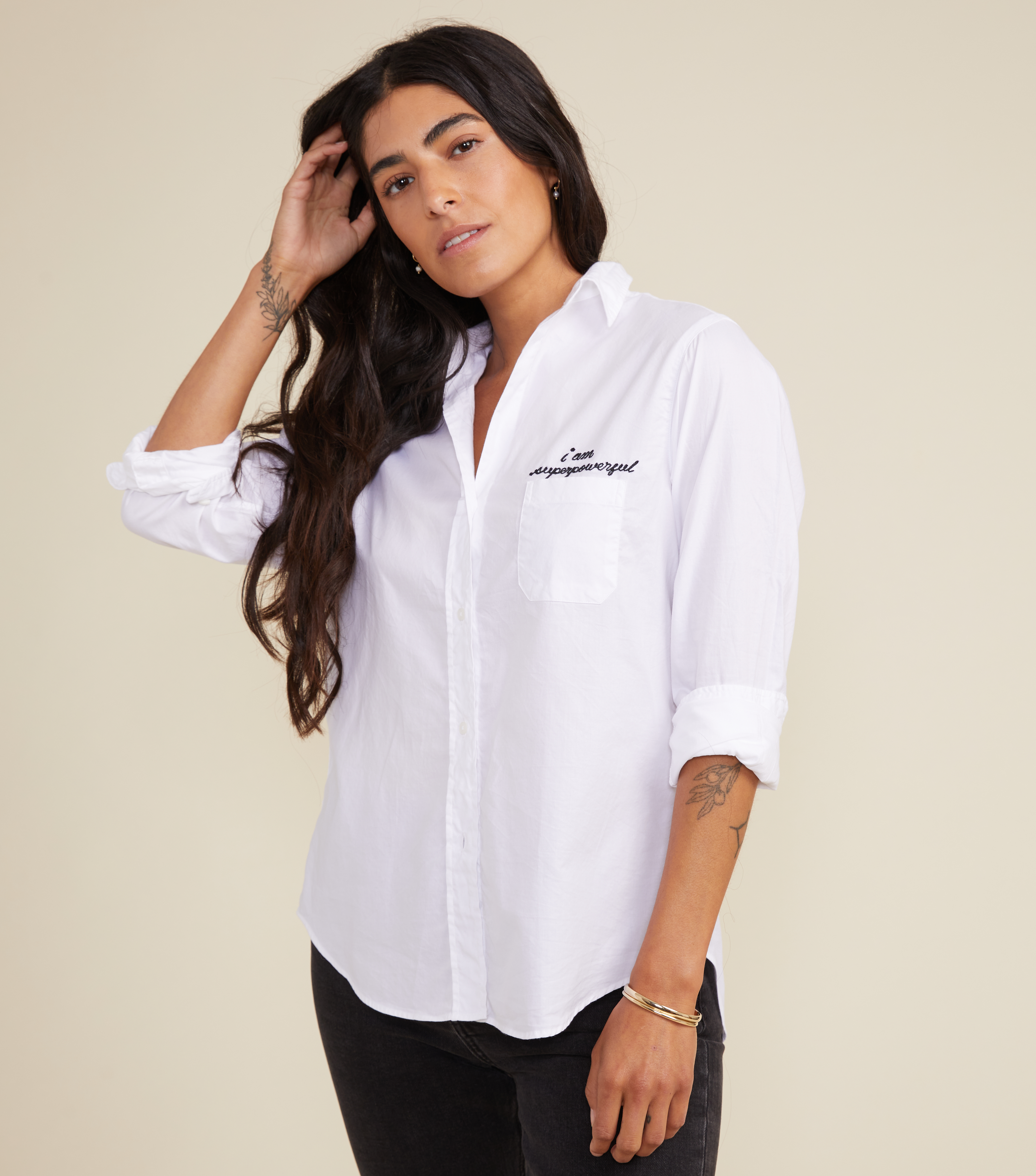 Image of The Hero Button-Up Shirt Powerful, Cozy Cotton