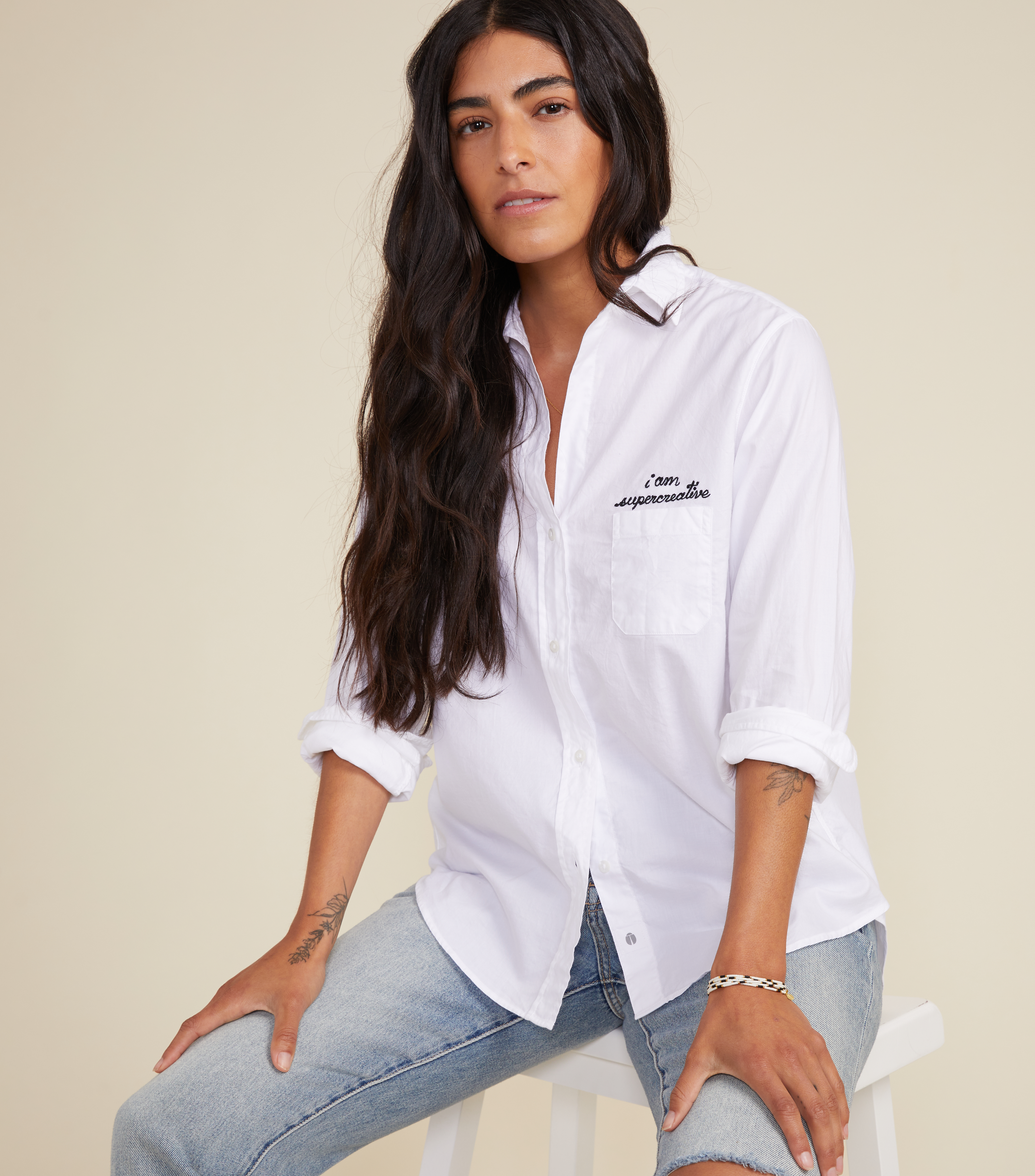 Image of The Hero Button-Up Shirt Creative, Cozy Cotton