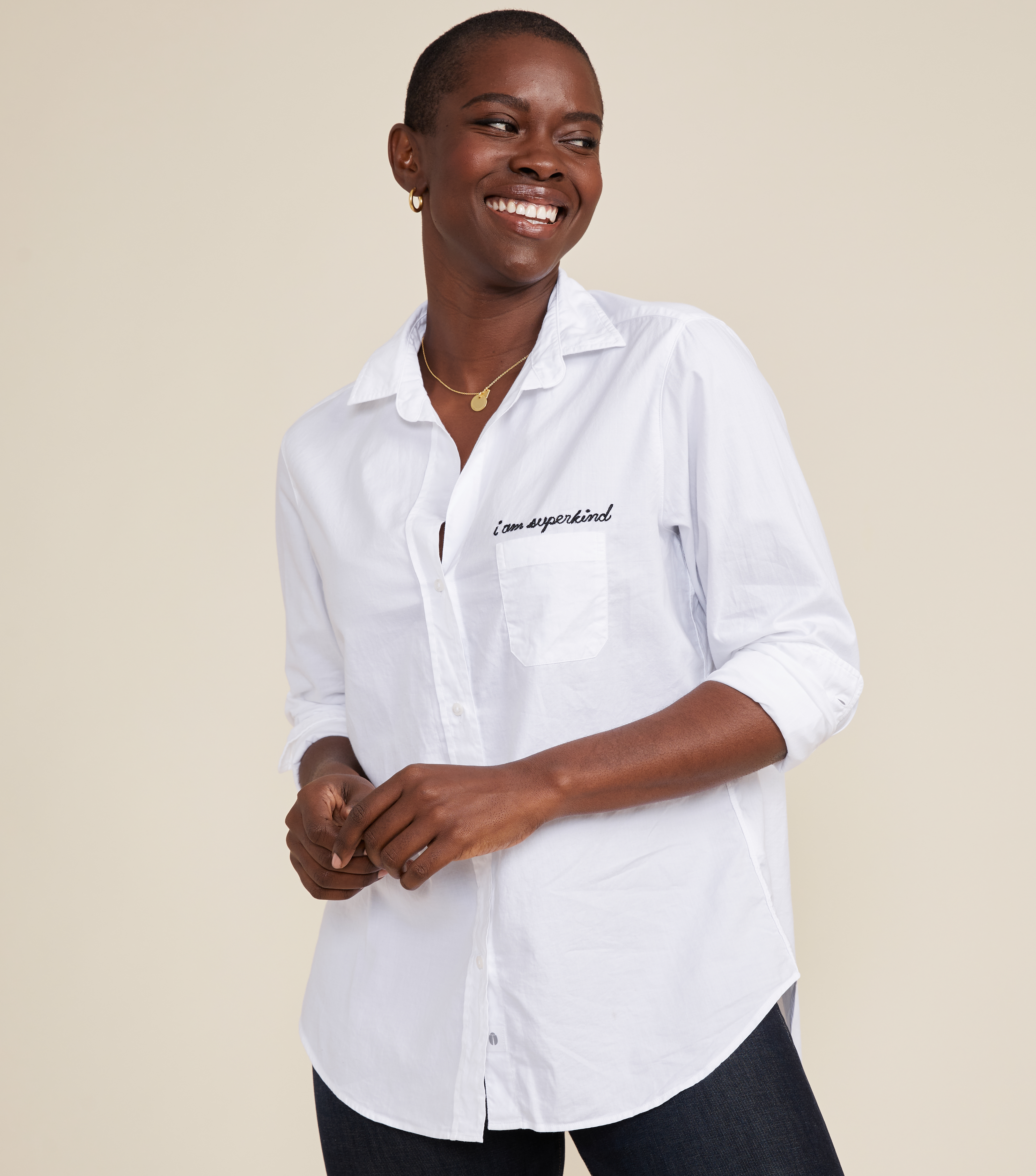 Image of The Hero Button-Up Shirt Kind, Cozy Cotton