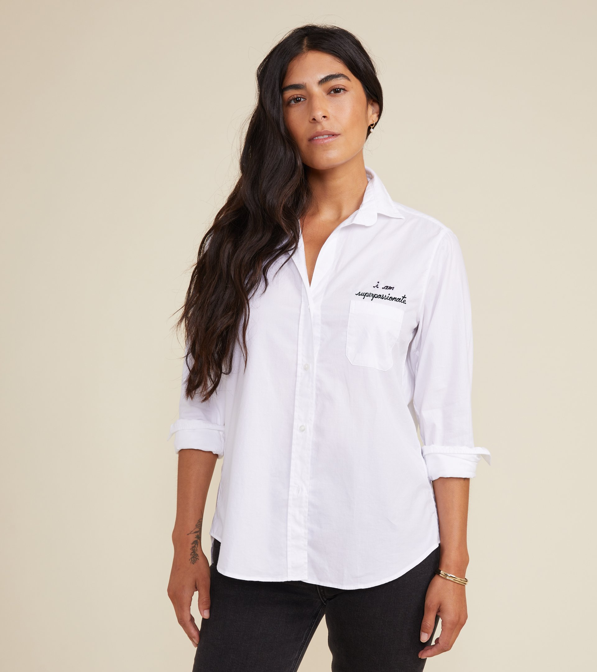 Image of The Hero Button-Up Shirt Passionate, Cozy Cotton