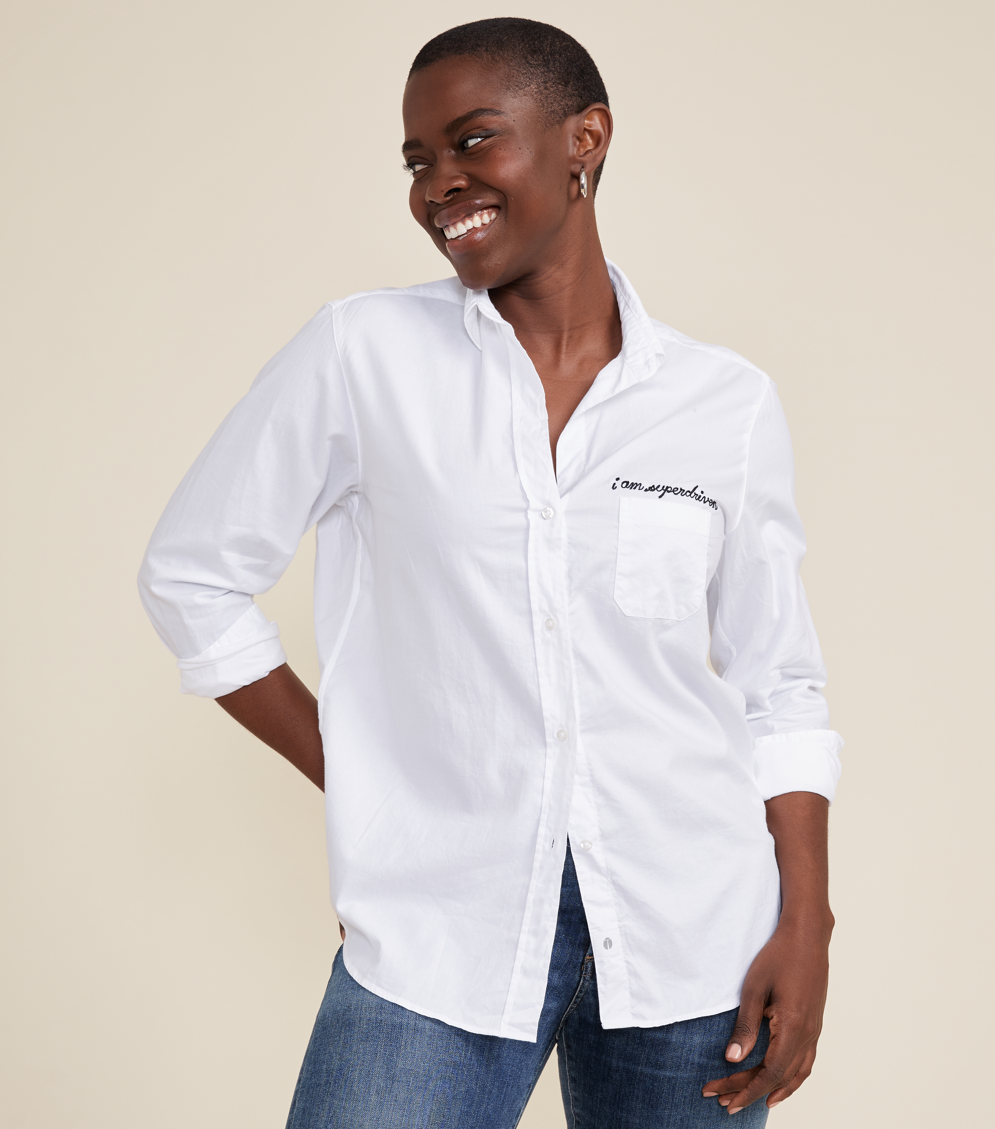 Image of The Hero Button-Up Shirt Driven, Cozy Cotton
