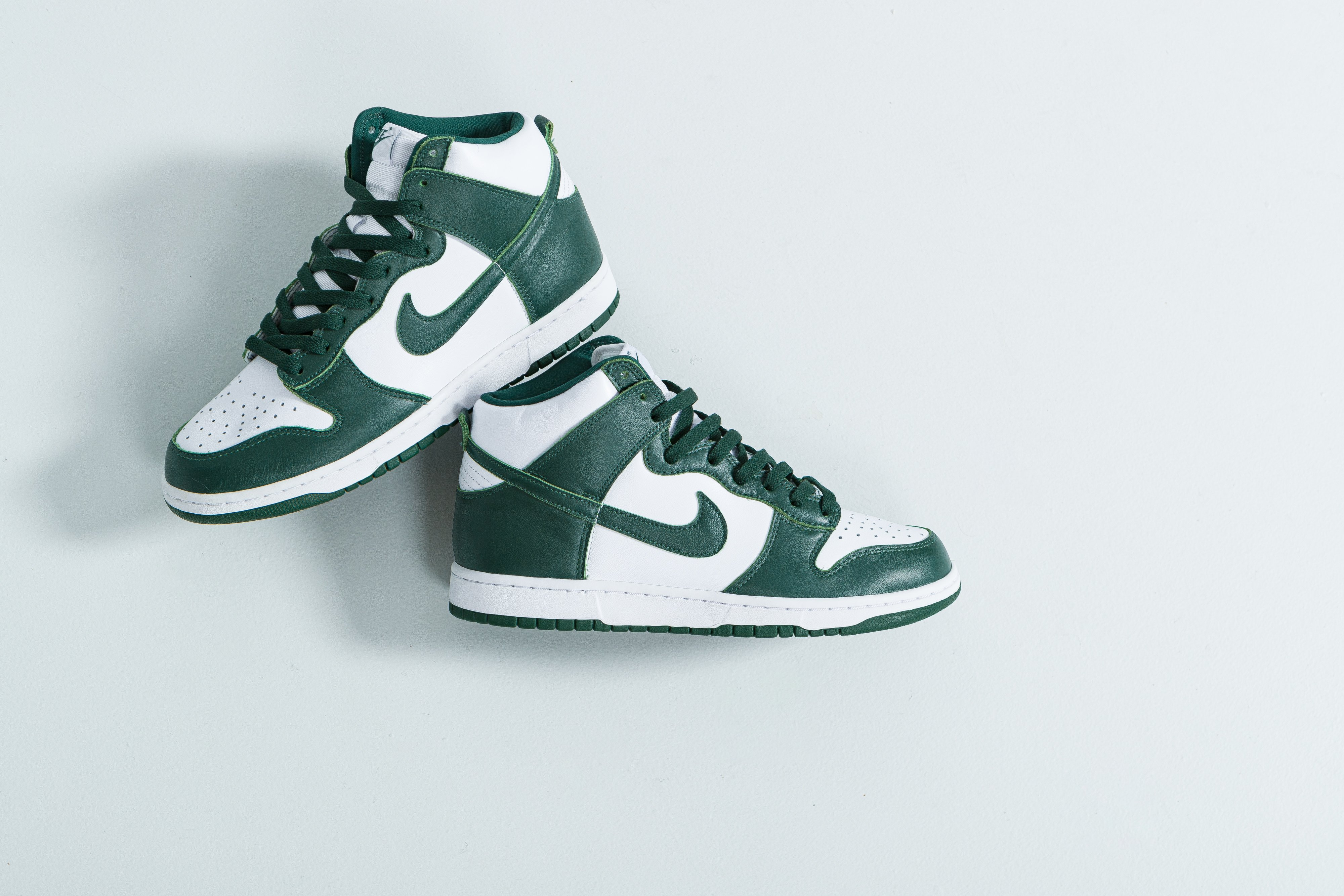 Up There Launches - Nike Dunk Hi SP - White/Pro Green-Pro Green
