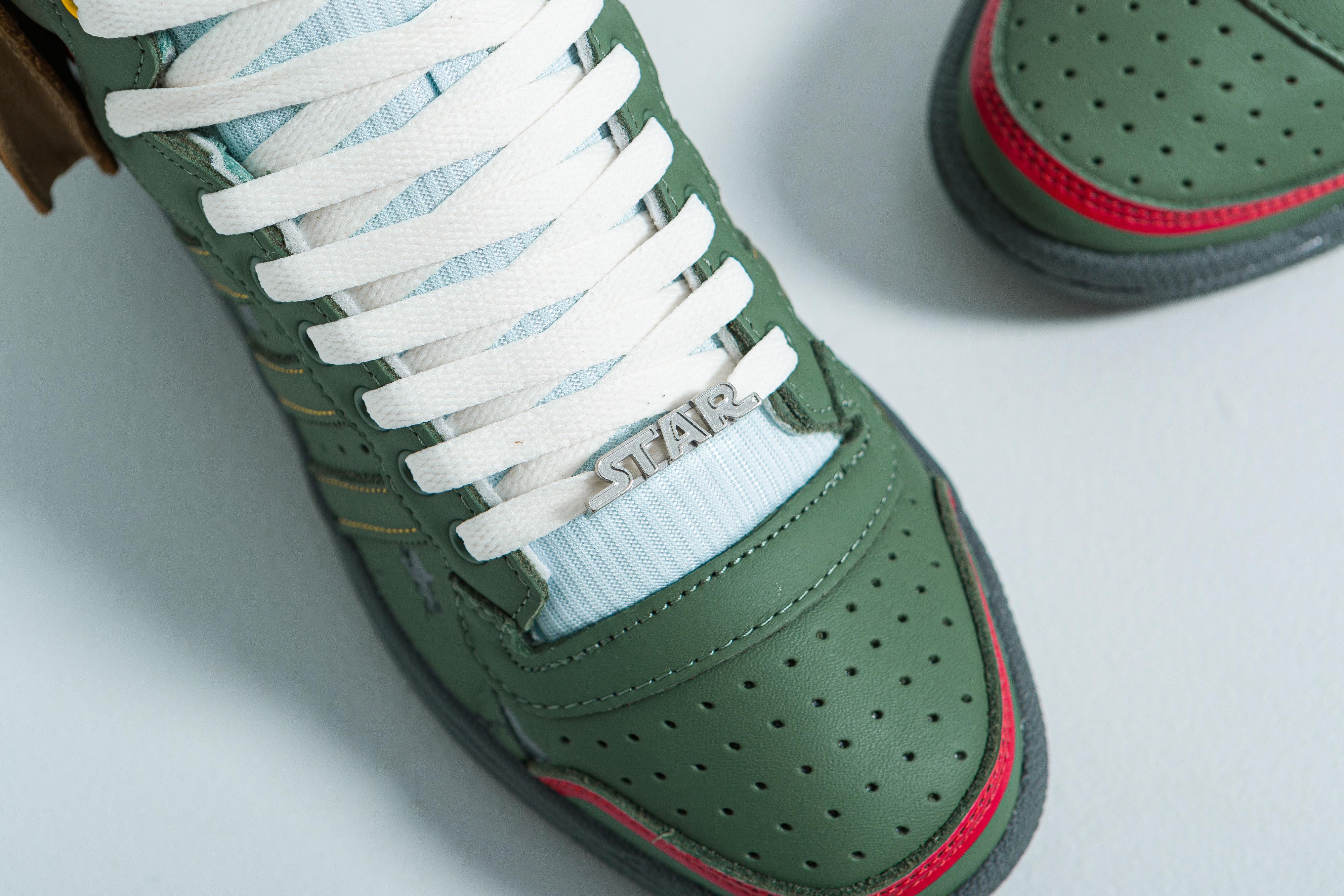 adidas Originals X Star Wars Boba Fett Top Ten Hi