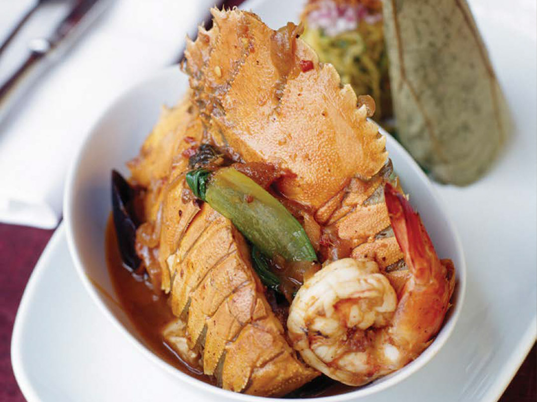 Aromatic Seafood Pot