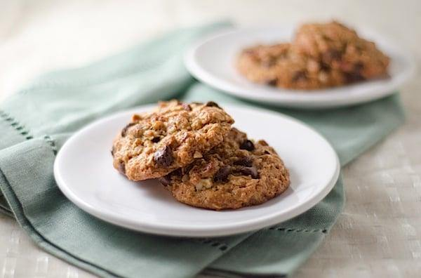 Nutty Granola Chocolate Chip Cookies