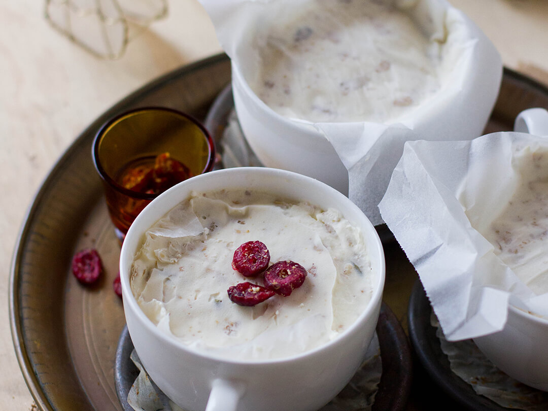 Brookfarm Frozen Yoghurt & Muesli Christmas Puddings
