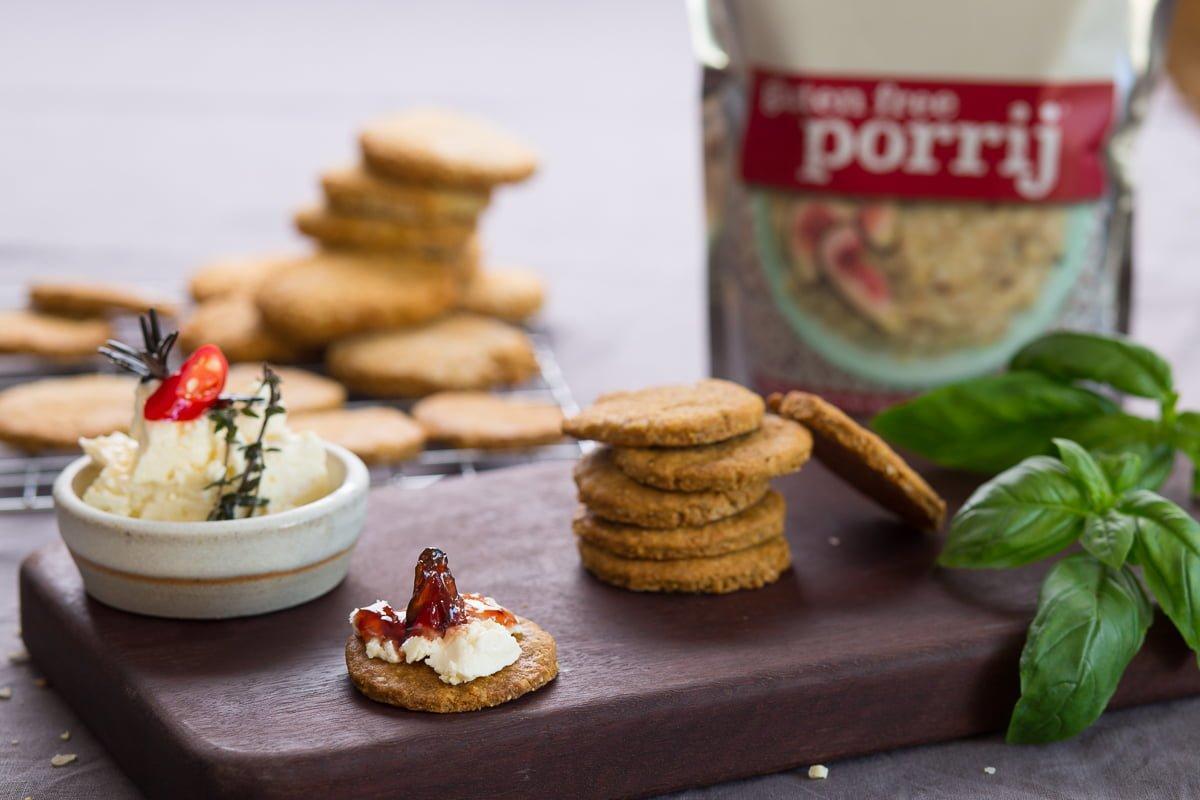 Gluten Free Porrij Biscuits