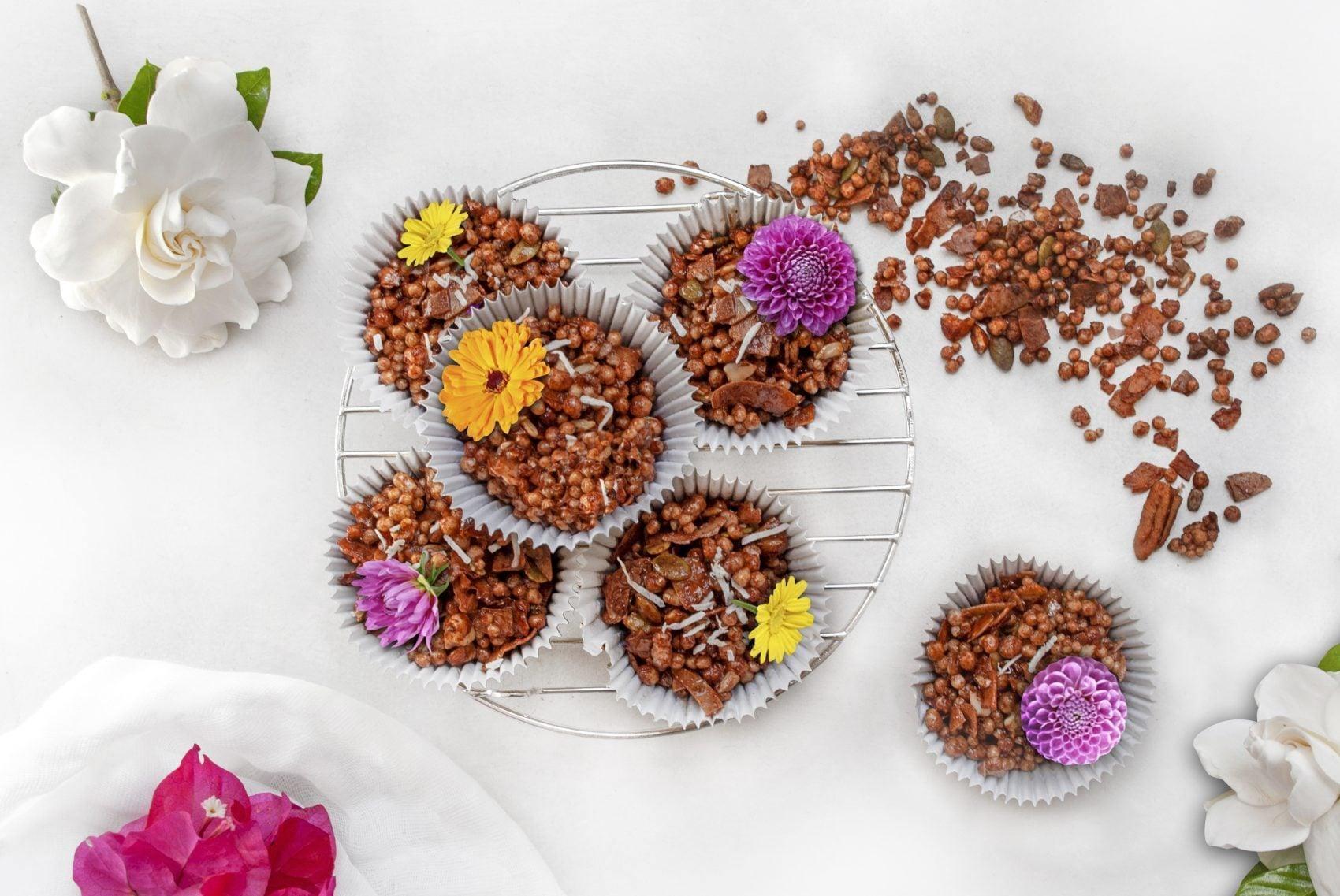 Cacao & Coconut Granola Bites