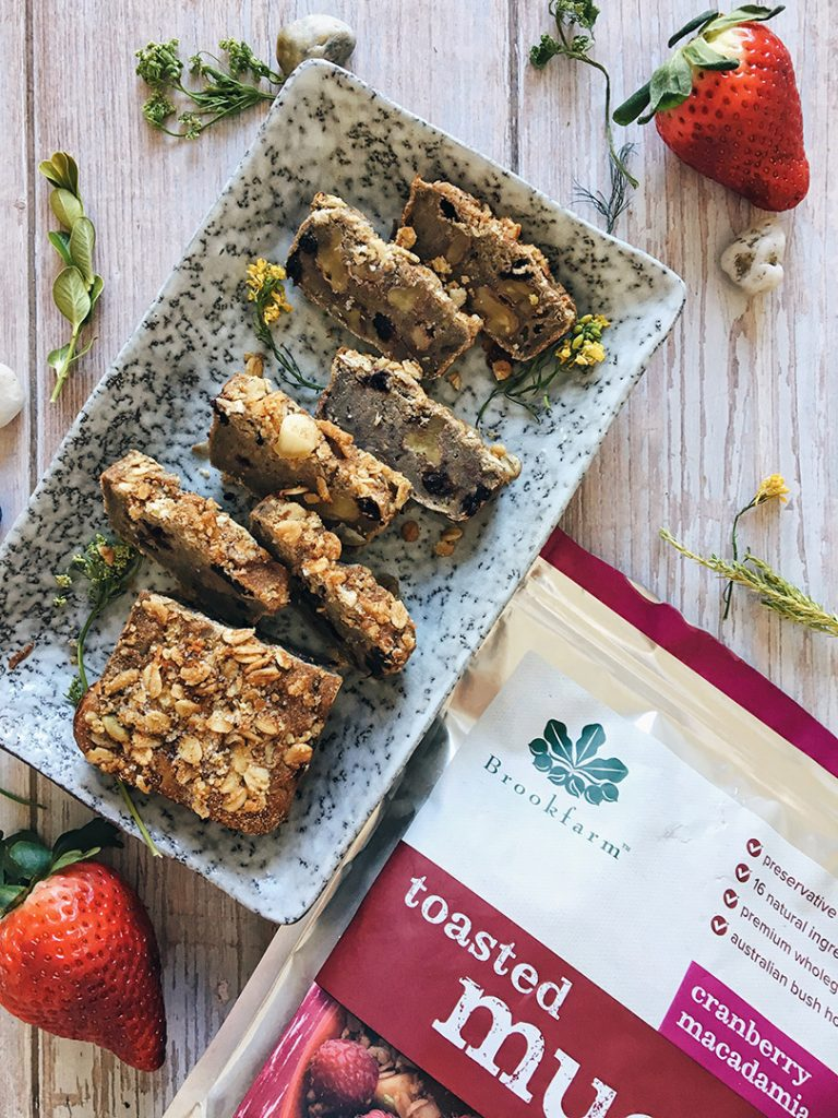 Brookfarm Banana Bread Brekky Bars