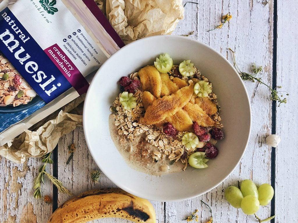 Brookfarm Chai Spiced Protein Muesli Bowl