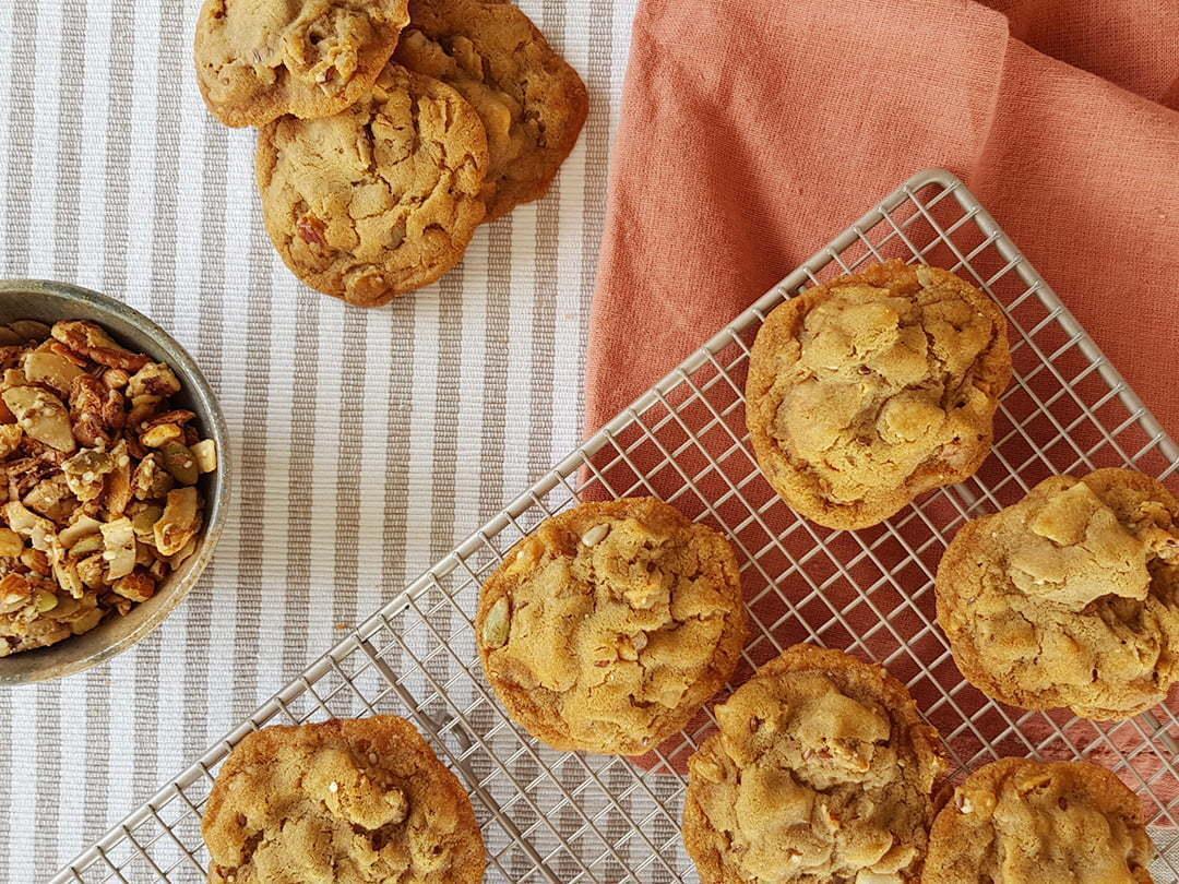 Prebiotic Anzac Biscuits