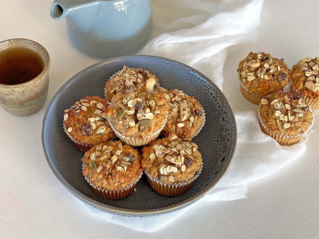 Macadamia & Cranberry Muesli Muffins