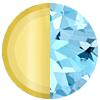 March Solid 14k Gold|Aquamarine Swatch