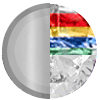 Silver Rainbow Diamondettes Swatch