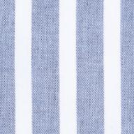 blue melange stripes
