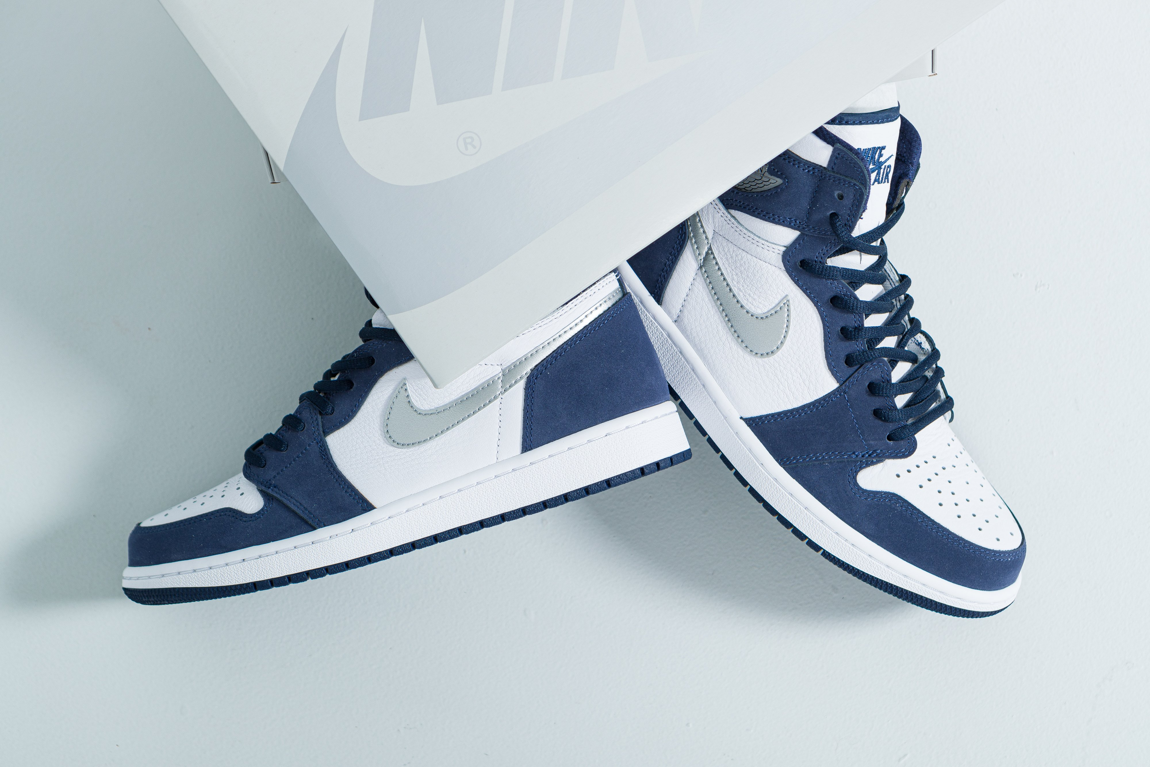 Up There Launches - Nike Air Jordan 1 Retro CO.JP 'Midnight Navy'
