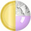 Gold|Grape|White Diamondettes Swatch