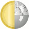 Gold|Gray|White Diamondettes Swatch