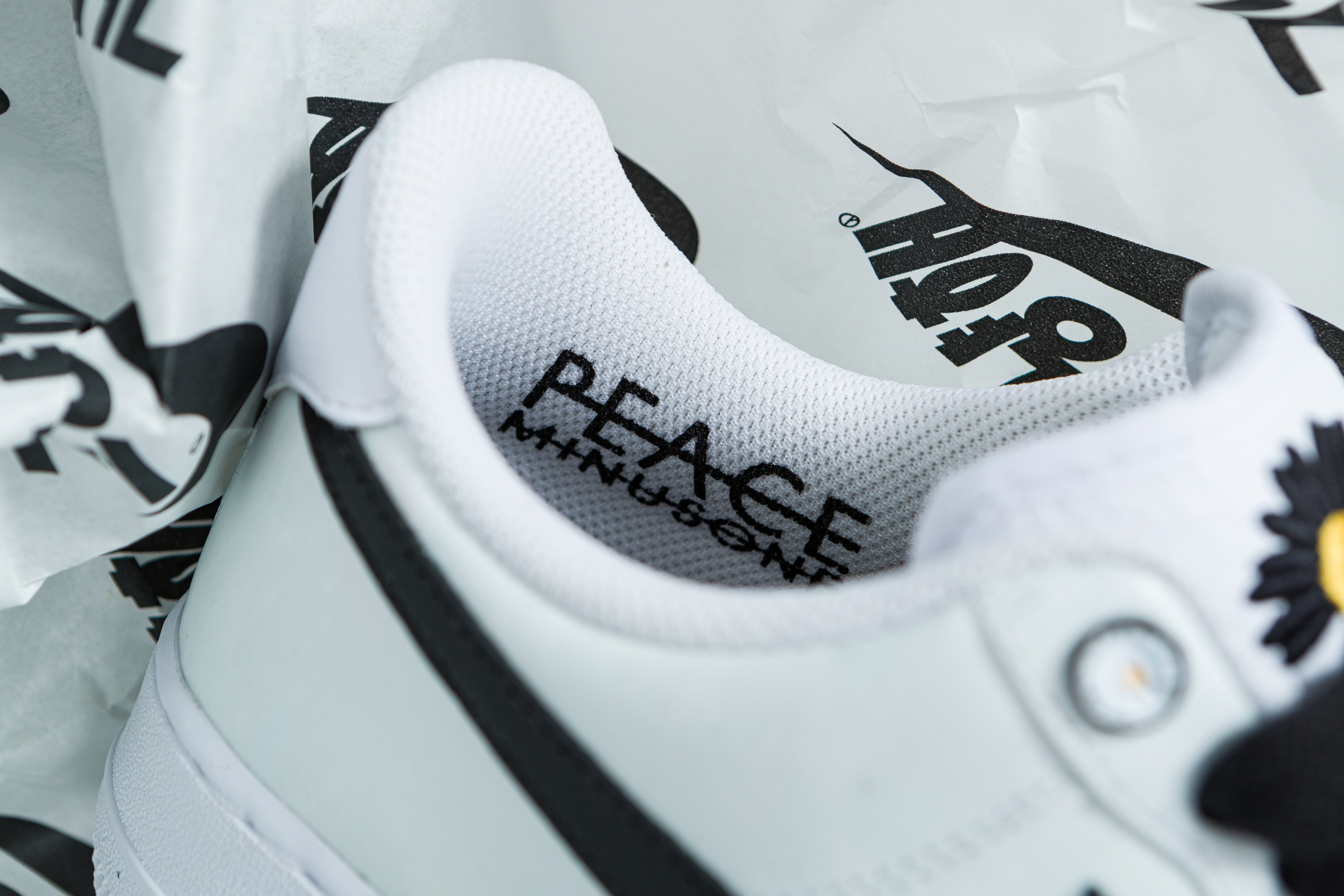 Up There Launches - Nike X Peaceminusone G-Dragon Air Force 1 AF1 'Paranoise'