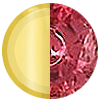 Gold|Ruby|Blue|White Diamondettes Swatch