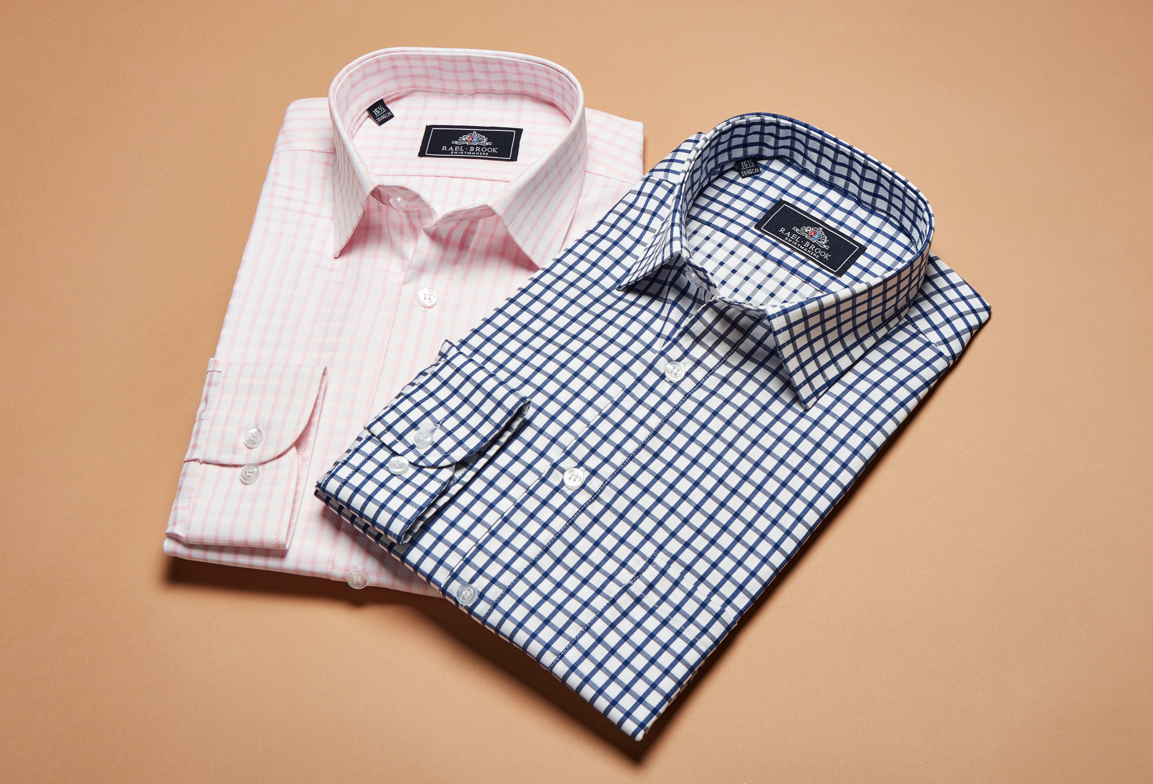 Classic Fit Checkerboard Shirts