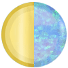 Gold|Opal Swatch