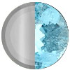 December Silver|Blue Topaz Swatch