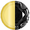 Gold|Black Swatch