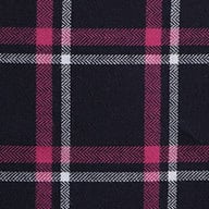 navy, pink, and white plaid