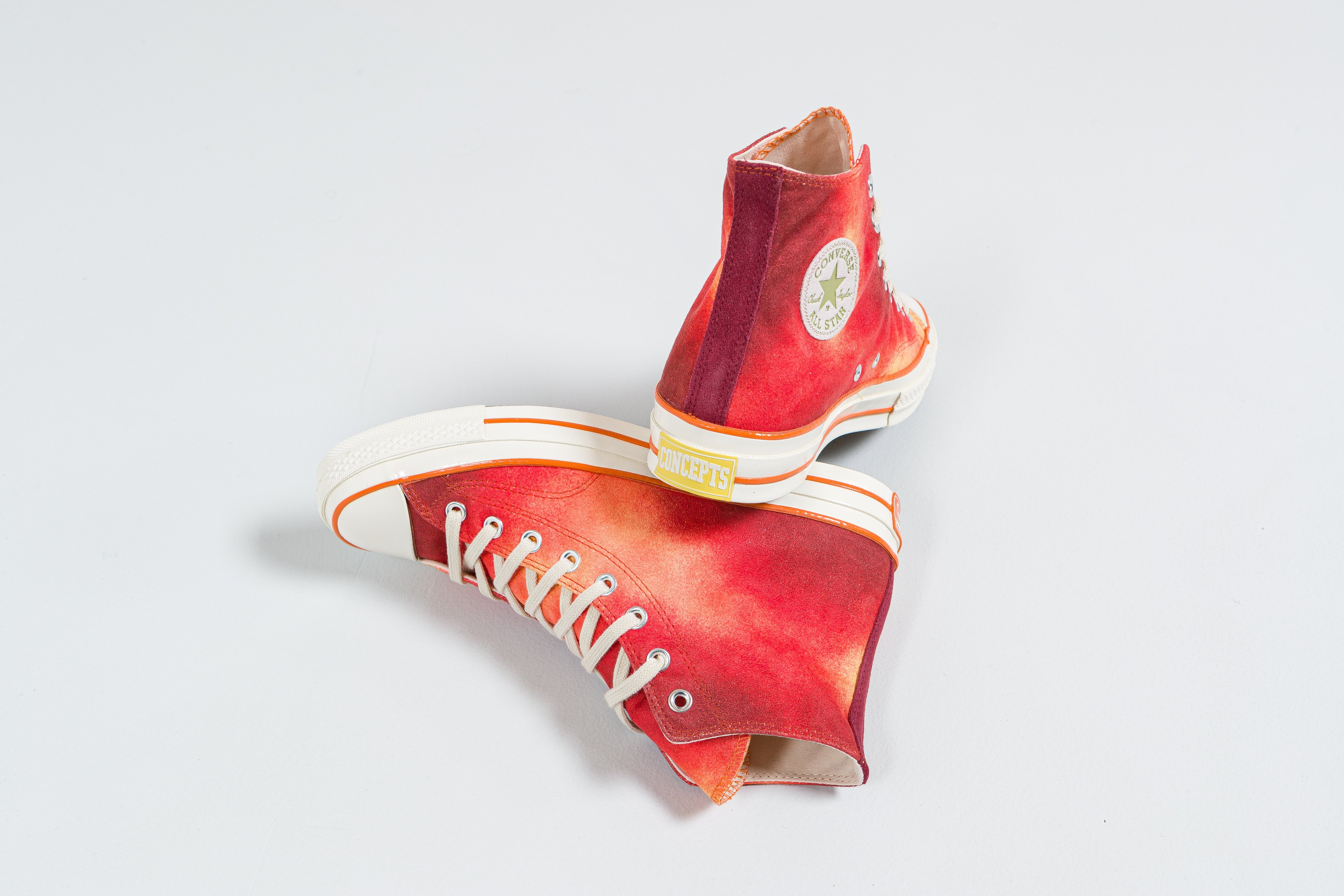 Up There - Converse X Concepts 1970's Chuck Taylor 'Peach Basket'