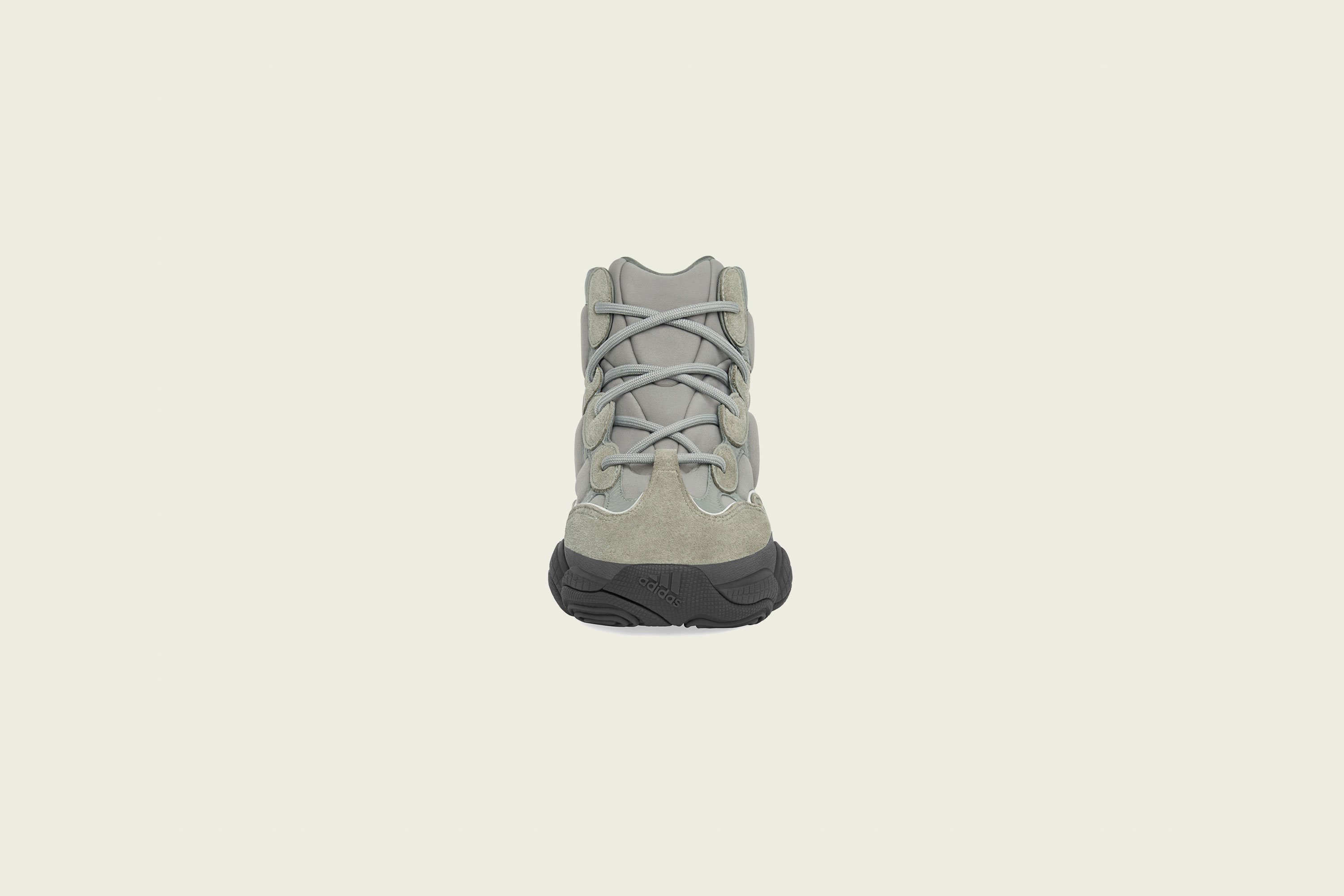 Up There Store - adidas Originals Kanye West Yeezy 500 High - Mist Slate