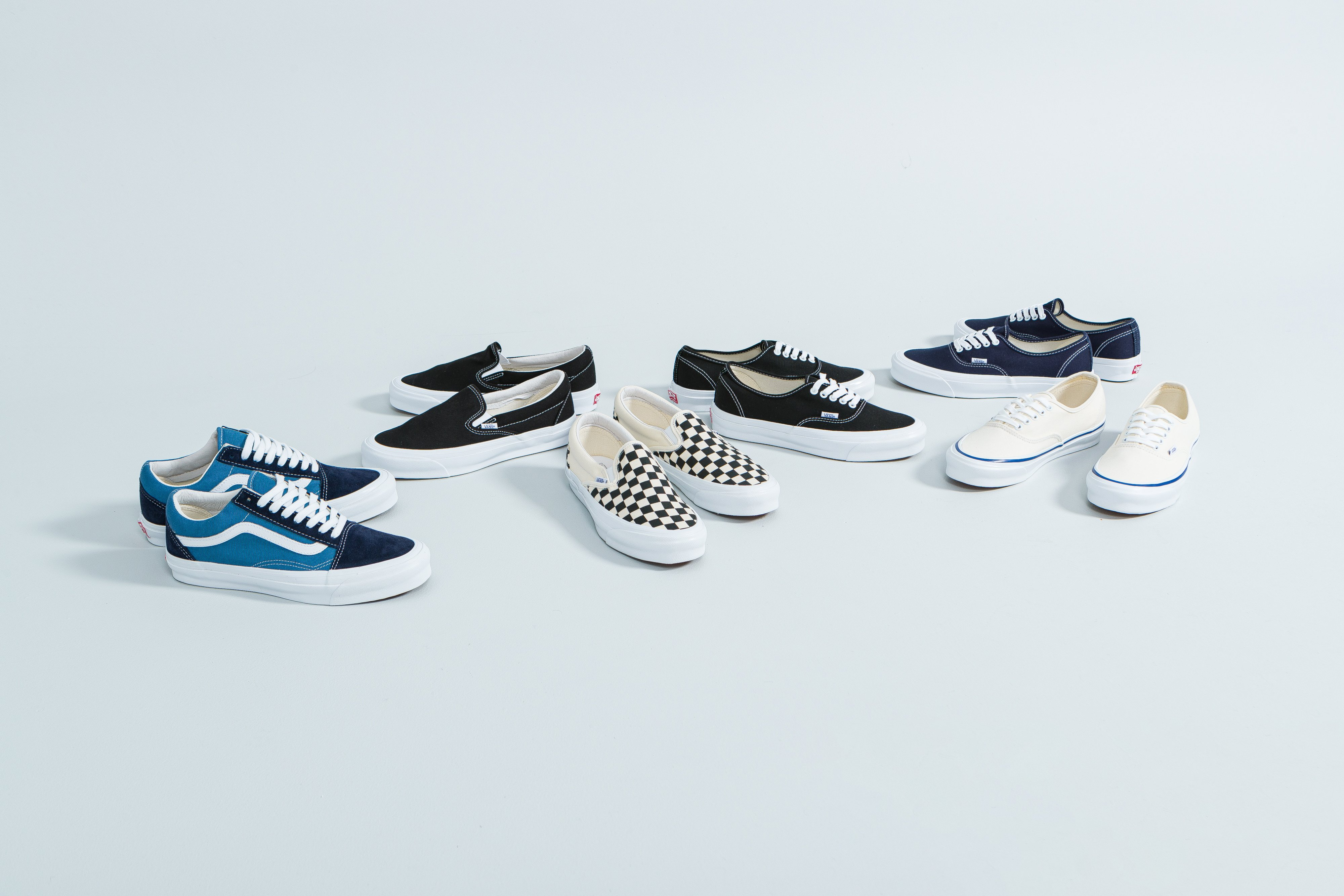Up There Store - Vans Vault Classics - Sk8-Hi, Old Skool, Authentic, Slip-On