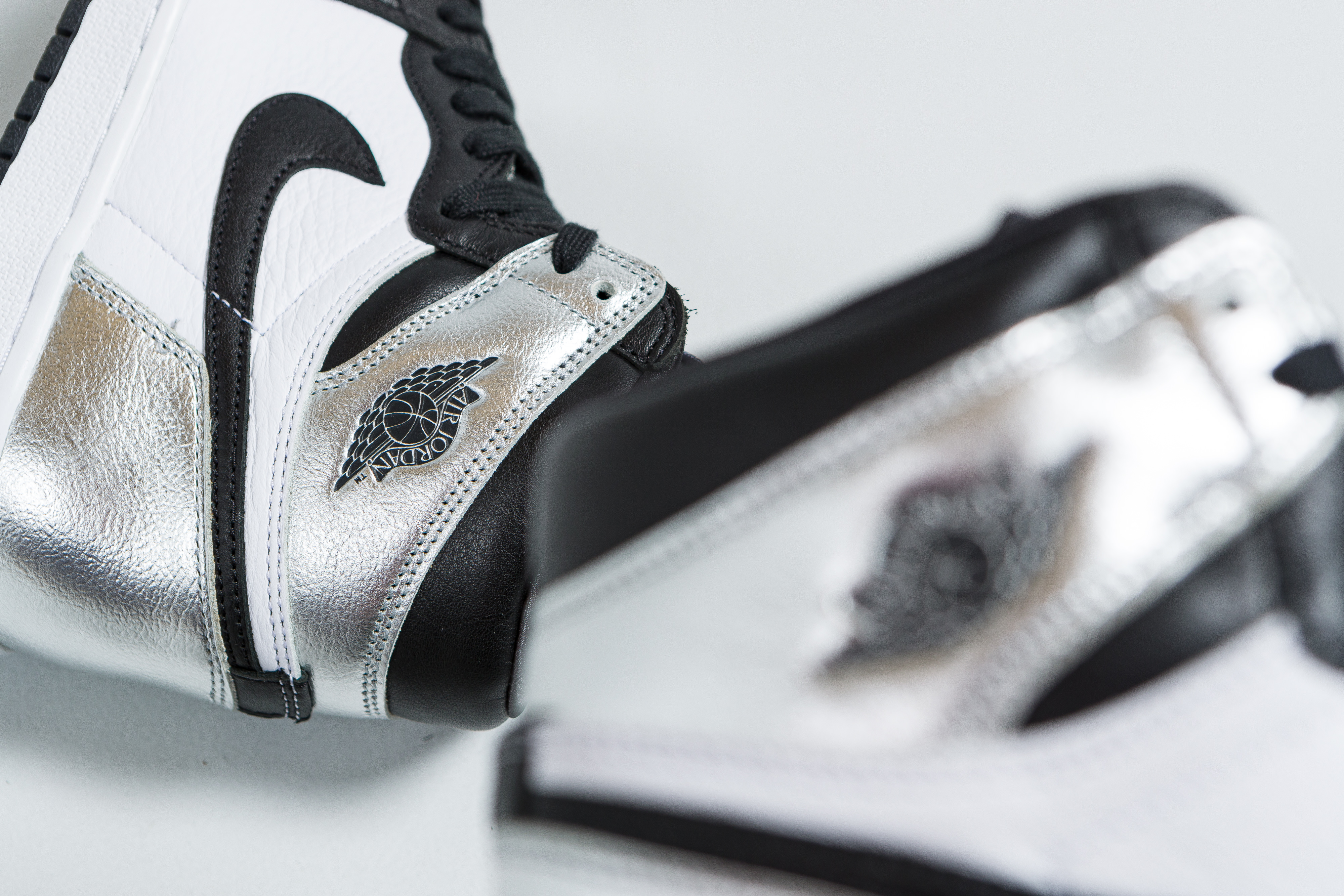 Up There Launches - Nike Air Jordan 1 Women's 'Silver Toe'