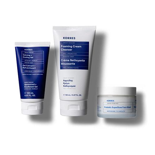 Korres Limited Edition Healthy + Balanced Summer Skin Kit