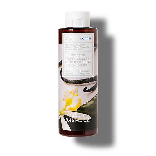 Korres RENEW + HYDRATE Mediterranean Vanilla Blossom Renewing Body Cleanser