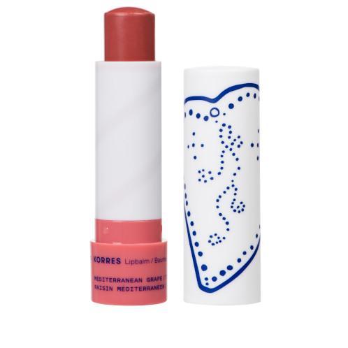 Korres Lippenpflegestift Lip Balm Mediterranean Grape Getönt Neutral Purple 2