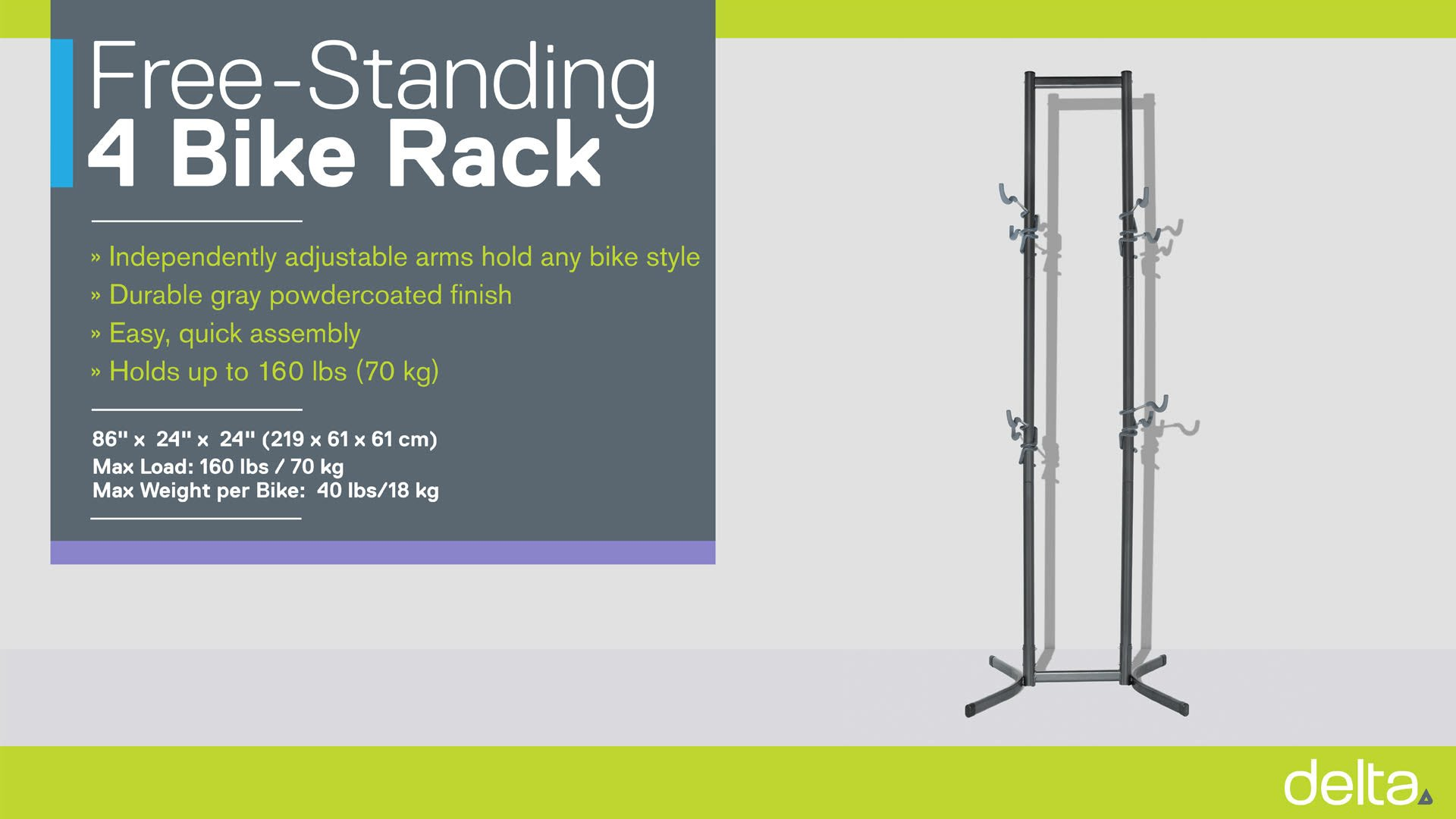 Four Bike Free-Standing Rack instructions