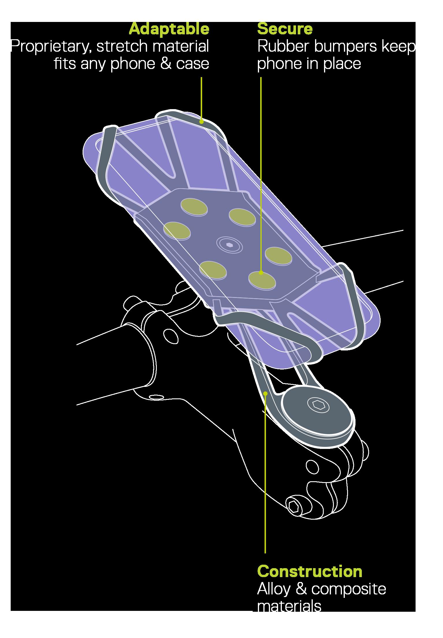 X Mount Pro diagram