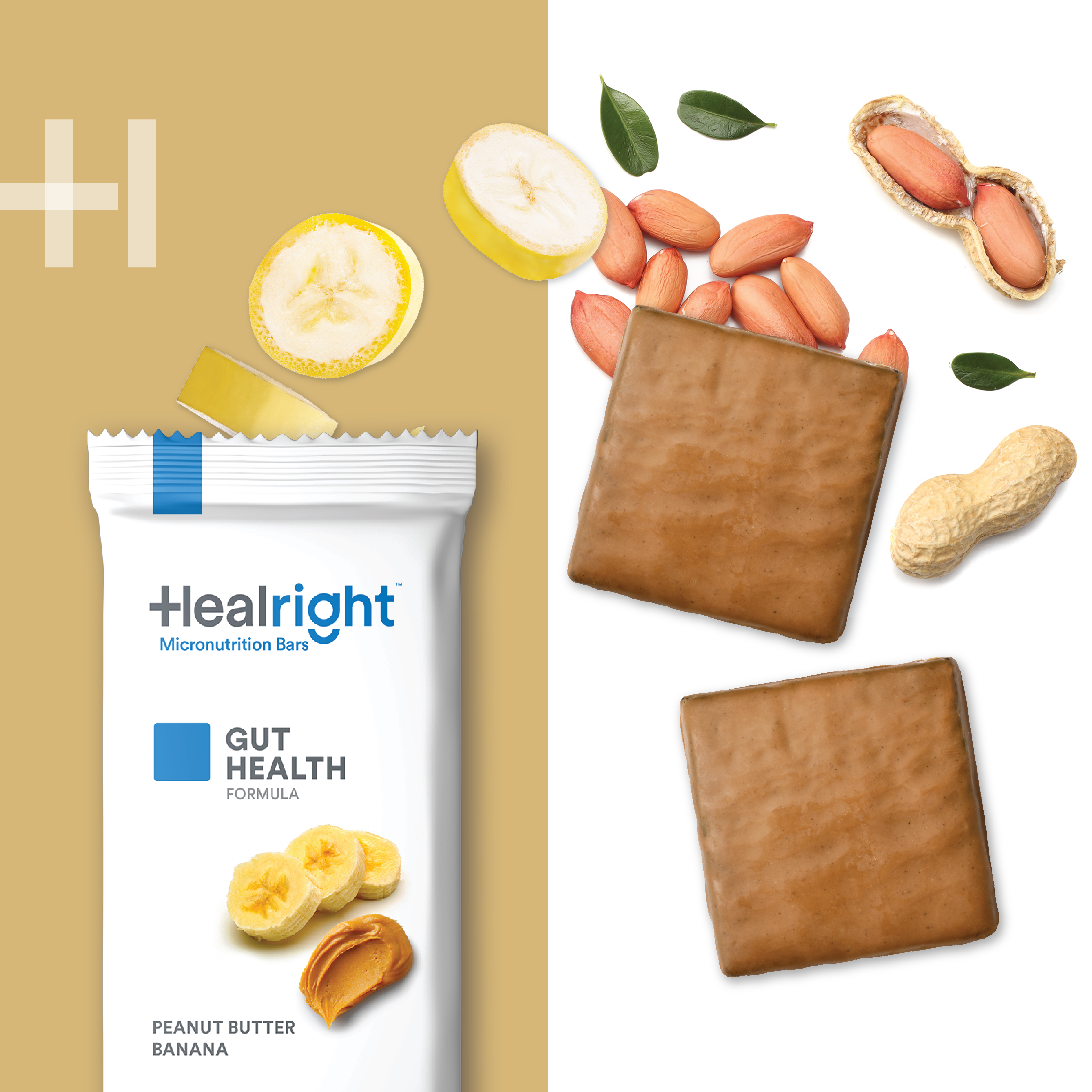Healright Gut Health Daily with Peanut Butter & Banana flavor