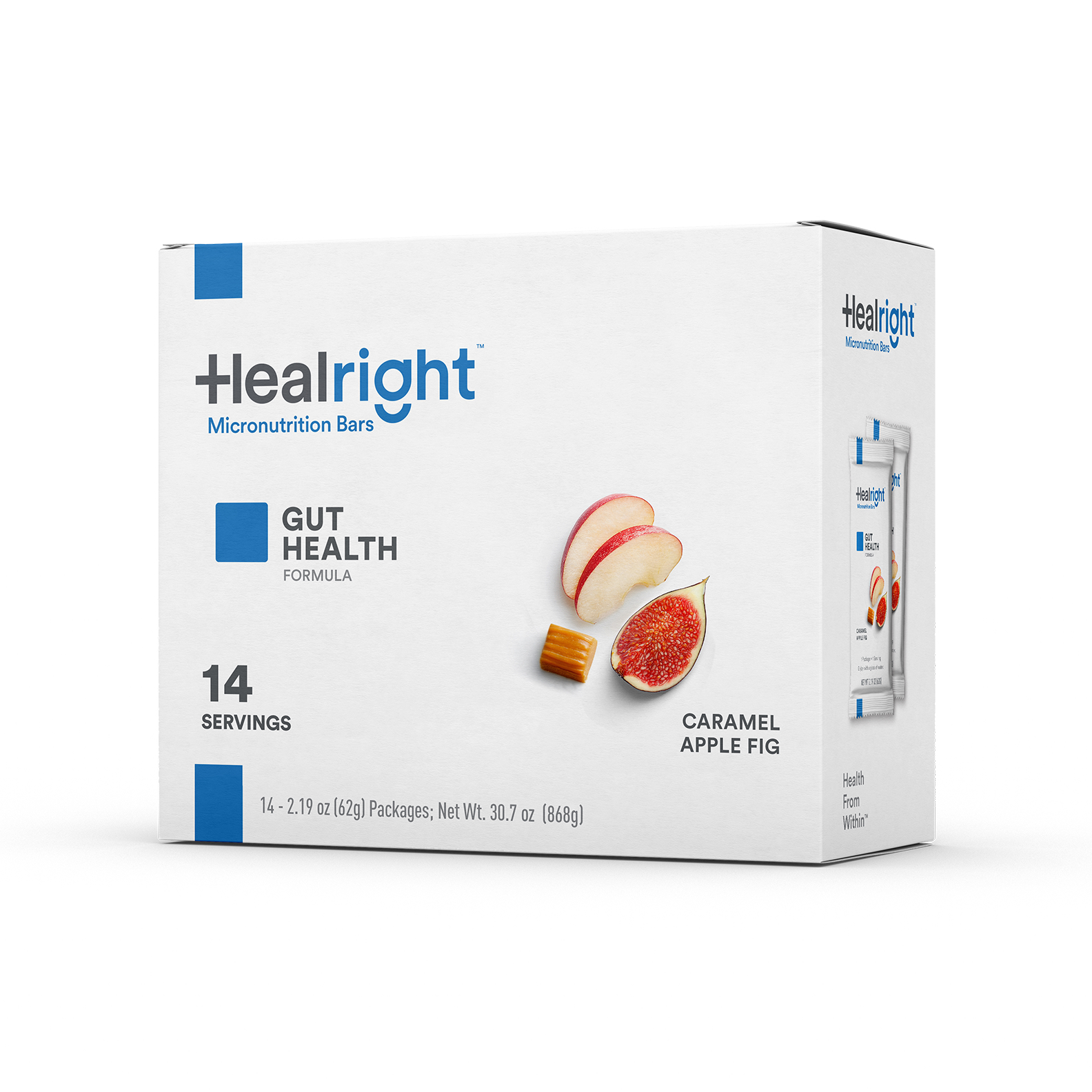 Healright Gut Health Daily with Caramel Apple Fig flavor