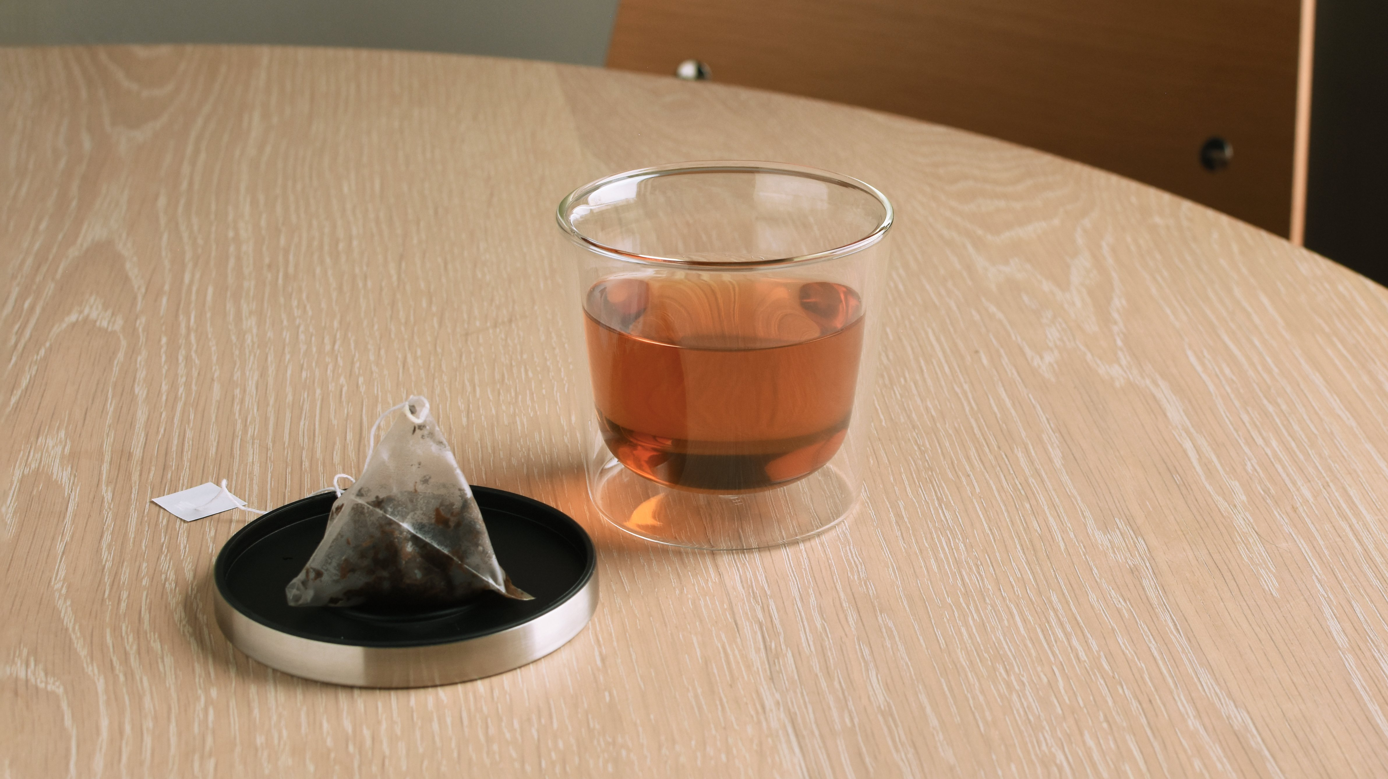 KINTO LEAVES TO TEA TEA BAG CUP 260ML CLEAR THUMBNAIL 1
