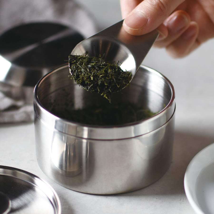 KINTO LEAVES TO TEA TEA SCOOP STAINLESS STEEL